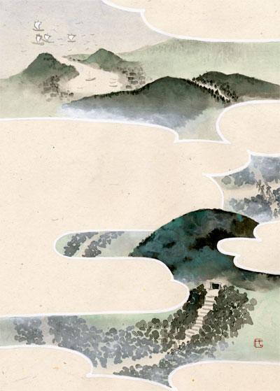 「ザビエルの墓標」扉絵