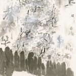「黄蝶舞う」挿絵