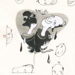 「心中しぐれ吉原」挿絵