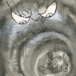 「されこうべ」挿絵