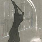 第一回『破邪の剣』後半の挿絵