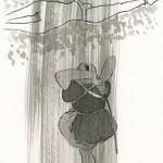 第六回『破邪の剣』前半の挿絵