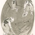 第七回『破邪の剣』前半の挿絵