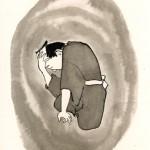 第八回『破邪の剣』前半の挿絵