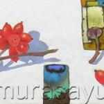 赤い実とトウガラシ