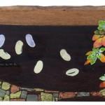 散歩道とナタ豆