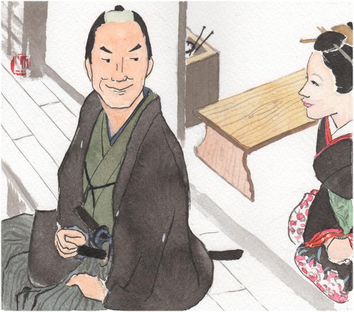「迷いの旅籠」382回挿絵