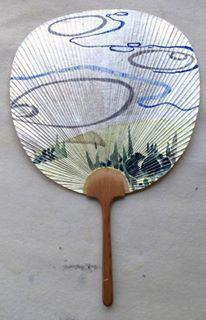 燕子花と波紋