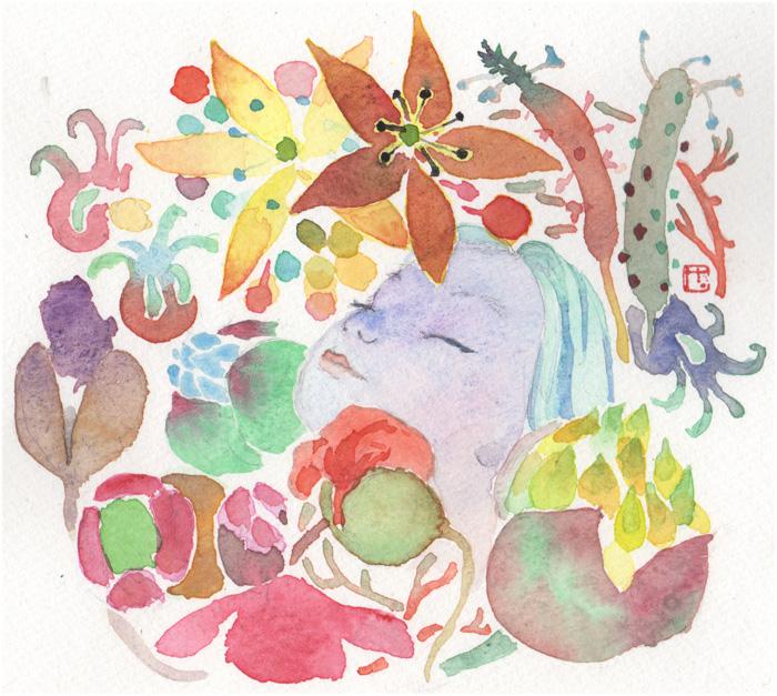 「迷いの旅籠」12回挿絵