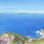 『サライ』〈半島をゆく〉挿画