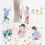 『NHK俳句テキスト』11月号カット